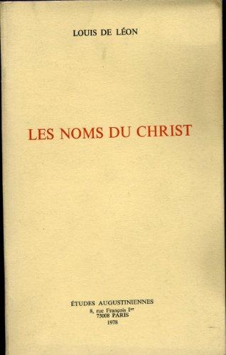 9782851210210: Les Noms du Christ