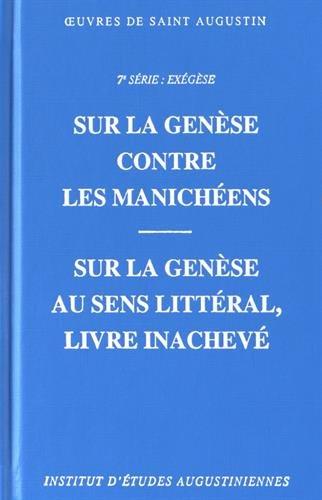 9782851212009: Sur la Gen�se, contre les manich�ens