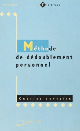 Méthode de Dédoublement personnel: Charles Lancelin