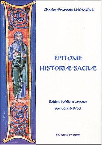9782851621108: Epitome Historiae Sacrae