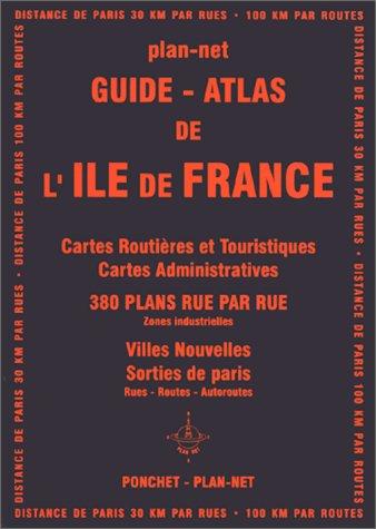 9782851730619: Atlas routiers : Atlas de l'Île-de-France