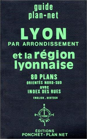 9782851730626: Plan de ville : Lyon - Arrondissements