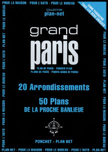 9782851730732: Grand Paris: 20 Arrondissements, 50 Plans de la proche banlieue