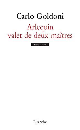 9782851810007: Arlequin, valet de deux maîtres