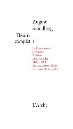 9782851810014: Th��tre complet, tome 1