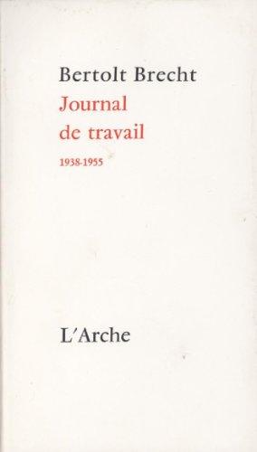 9782851811677: Journal de travail, 1938-1955