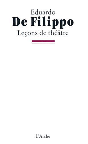 9782851813121: Le�ons de th��tre