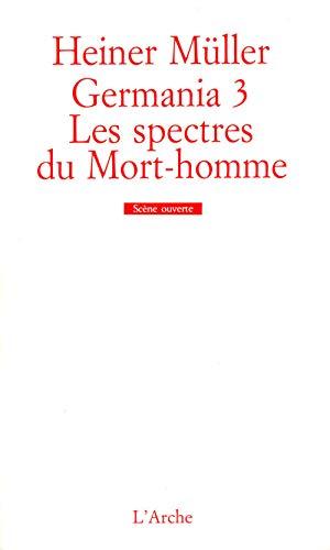 9782851813800: Germania 3 - les spectres du mort-homme