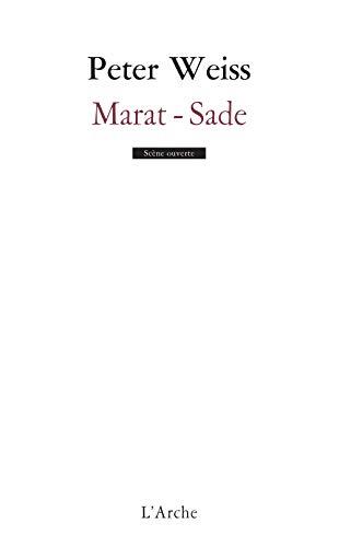 9782851814647: Marat-sade (Scène ouverte)