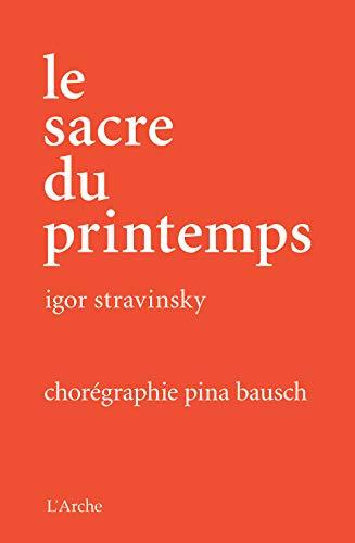 9782851817747: Le Sacre Du Printemps