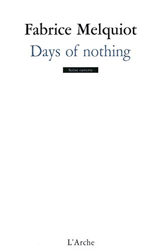 9782851817778: days of nothing