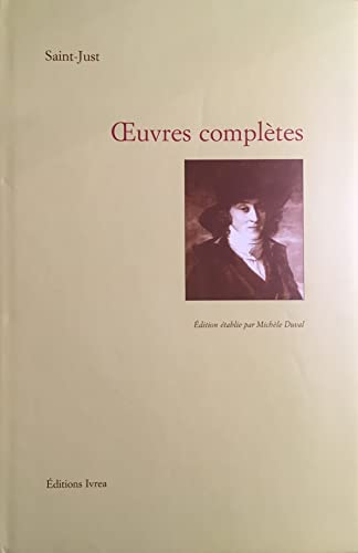 9782851841520: Œuvres complètes (French Edition)