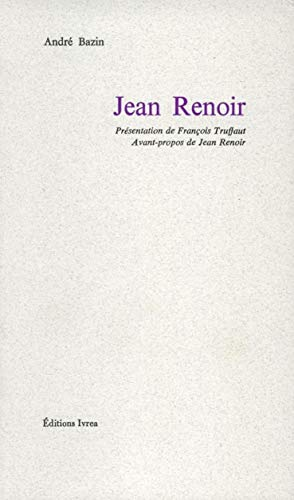 Jean Renoir (9782851842213) by André Bazin; Jean Renoir; François Truffaut