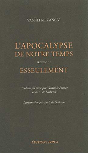 9782851842565: L apocalypse de notre temps (French Edition)