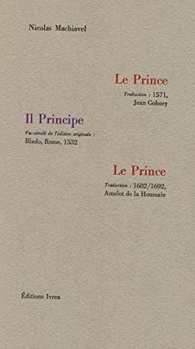 Le Prince Machiavel, Nicolas; Gohory; Blado and