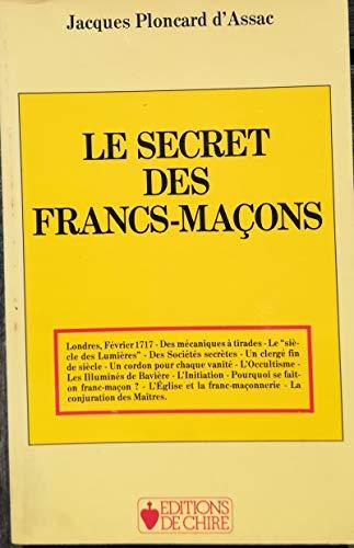 9782851900395: Le secret des francs-ma�ons