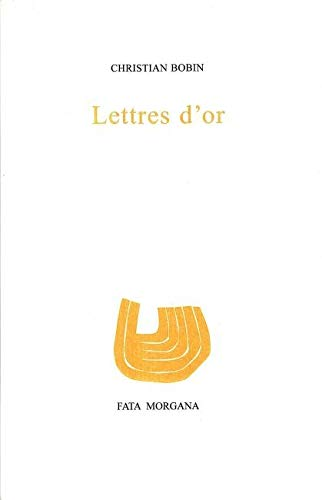 9782851940230: Lettres d'or