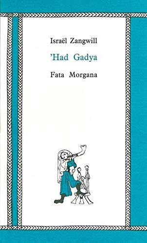 9782851944337: 'Had Gadya
