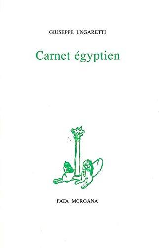 9782851944603: Carnet égyptien