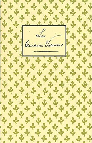 9782851945204: Les Quatrains Valaisans