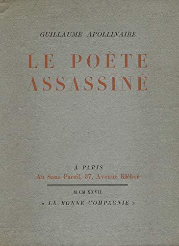 9782851945525: Le Poète assassiné