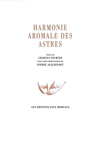 9782851946669: Harmonie aromale des astres (French Edition)