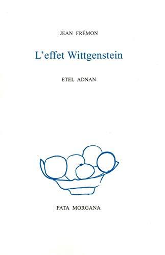EFFET WITTGENSTEIN -L-: FREMON JEAN