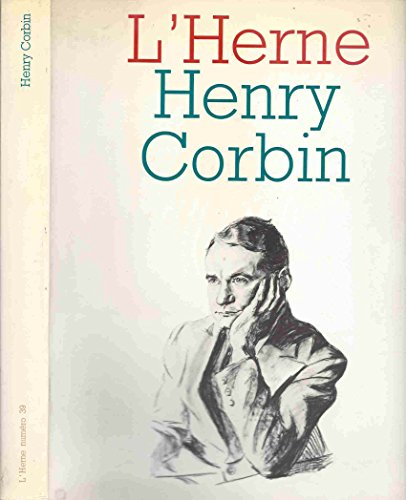 9782851970398: Henry Corbin (L'Herne) (French Edition)
