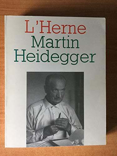9782851970497: Martin Heidegger (L'Herne) (French Edition)