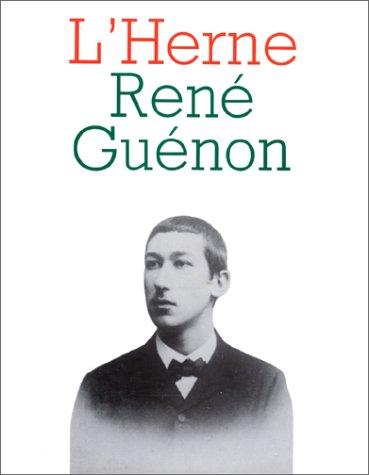 9782851970558: René Guénon