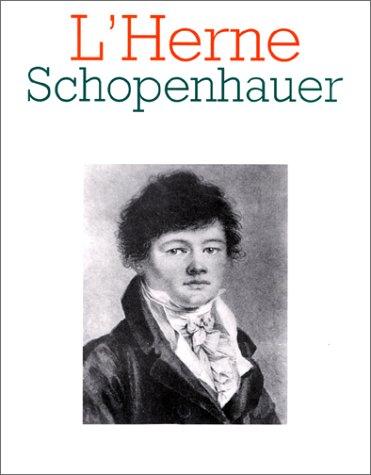 Schopenhauer (L'Herne) (French Edition): Jean Lefranc, Les Cahiers De L'Herne
