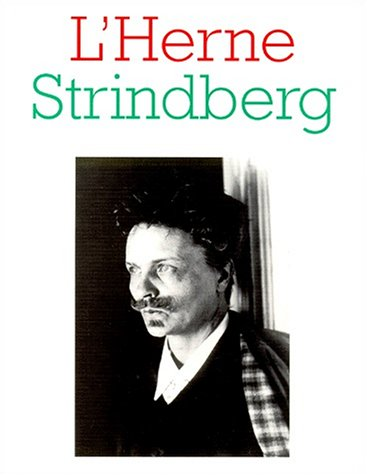 9782851970862: August Strindberg (L'Herne) (French Edition)