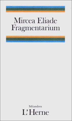 9782851972095: Fragmentarium