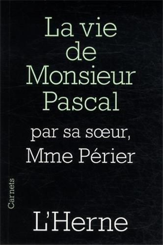 9782851972545: La vie de monsieur Pascal
