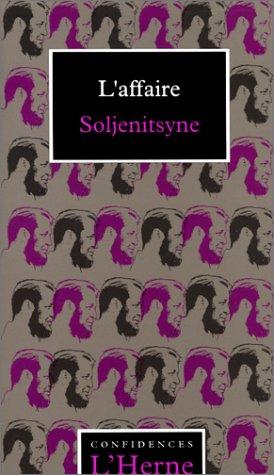 9782851973252: L'affaire Soljenitsyne