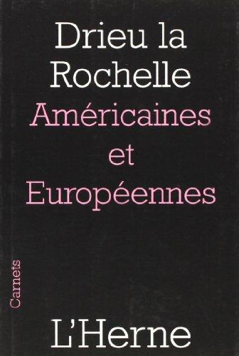 9782851976840: Am�ricaines et Europ�ennes