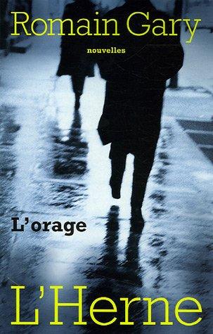 9782851977113: ORAGE (L')