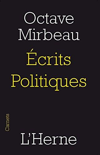 9782851978318: Ecrits politiques (Carnets de l'Herne)