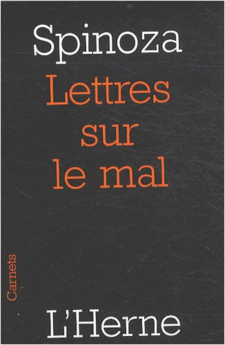 9782851978912: Lettres sur le mal (French Edition)