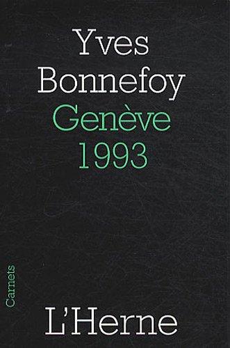 9782851979247: Gen�ve, 1993
