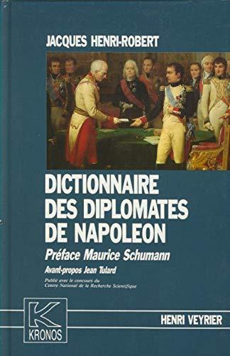 Dictionnaire des diplomates de Napoléon: JACQUES ( Henri-Robert )