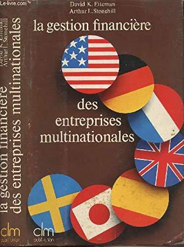 9782852000100: La Gestion financière des entreprises multinationales