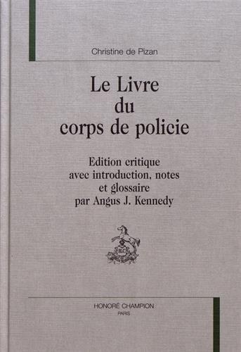 9782852037502: Le livre du corps de policie