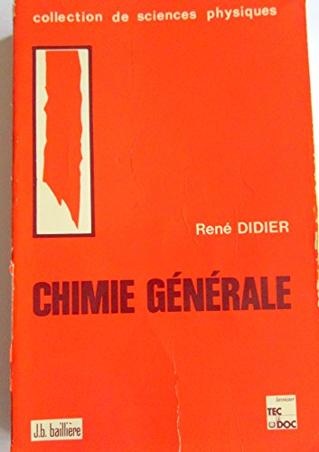 9782852062559: Chimie generale (5. ed.)