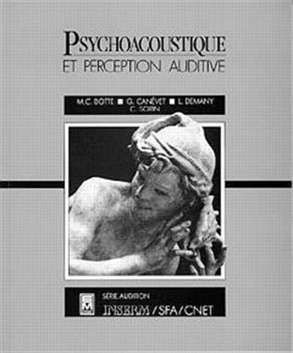 9782852065345: PSYCHOACOUSTIQUE ET PERCEPTION AUDITIVE