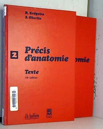 9782852067974: Précis d'anatomie, tome 1 (en 2 volumes)