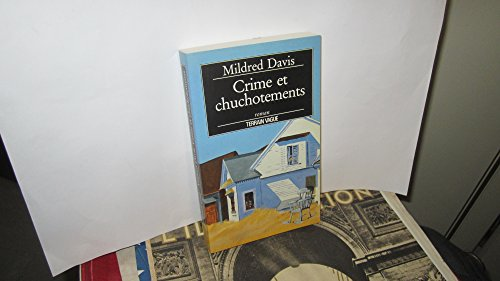 9782852081185: Crime et chuchotements (Biblio Insolite)