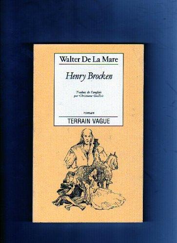 9782852081314: Henry Brocken