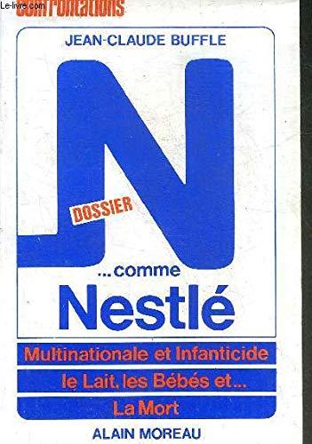 9782852090200: Dossier N. comme Nestlé