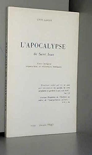 9782852440326: Apocalypse de Saint Jean